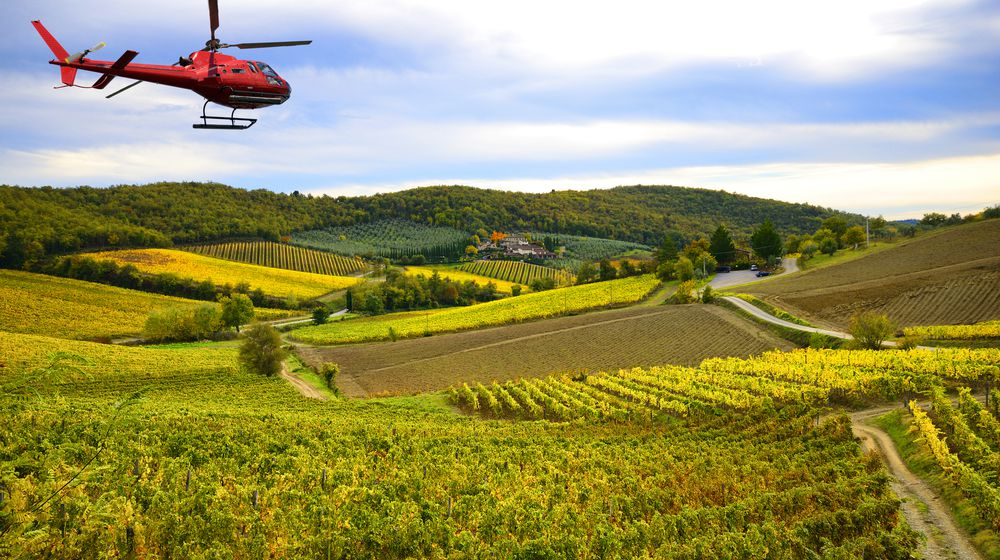 HELICOPTER TOURS High-altitude adrenaline